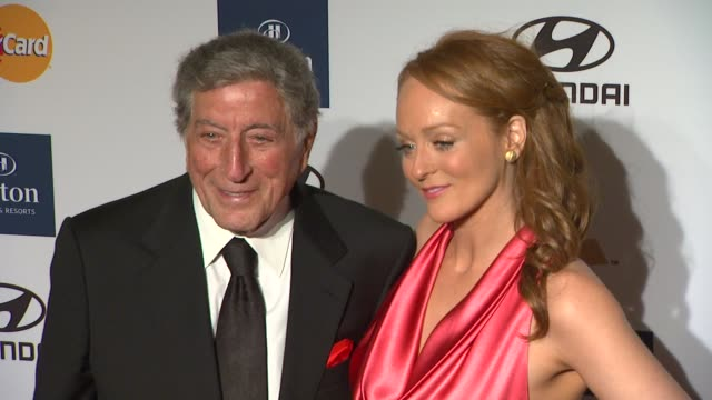 Tony Bennett Antonia Bennett at Clive Davis And The Recording Academy's 2012 PreGRAMMY Gala And Salute To Industry Icons Honoring Richard Branson on...