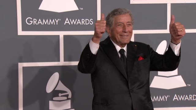 Tony Bennett at 54th Annual GRAMMY Awards Arrivals on 2/12/12 in Los Angeles CA