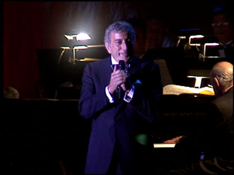 Tony Bennett at the American Cinema Awards at the Biltmore Hotel in Los Angeles California on November 2 1996