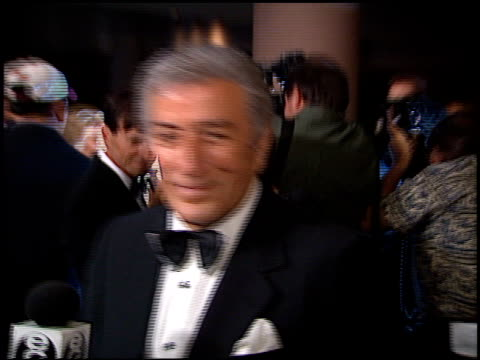 Tony Bennett at the American Cinema Awards at the Bonaventure Hotel in Los Angeles California on November 2 1996