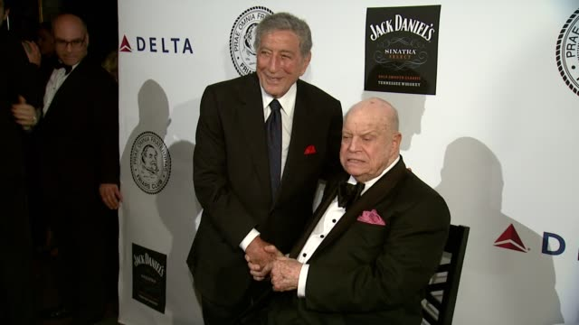 Tony Bennett at The Friars Club Testimonial Dinner Honoring Don Rickles at Waldorf Astoria Hotel on June 24 2013 in New York New York
