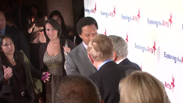 tony bennett terrence howard at the susan bennett and tony bennett host their exploring the arts gala at new york ny - terrence howard stock videos and b-roll footage