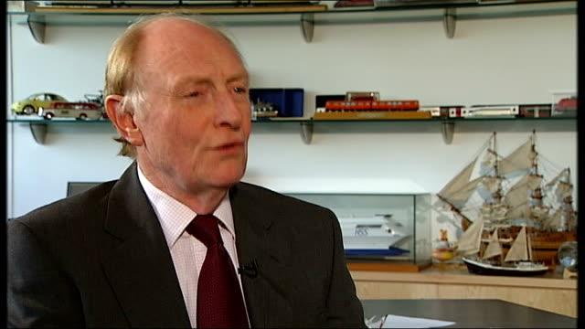 stockvideo's en b-roll-footage met blair's britain lord neil kinnock interview sot - neil kinnock