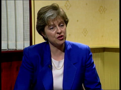 tony blair asked to pay school fees theresa may mp interviewed sot as a direct result of his decision to cut grant maintained status schools up and... - theresa may stock videos & royalty-free footage