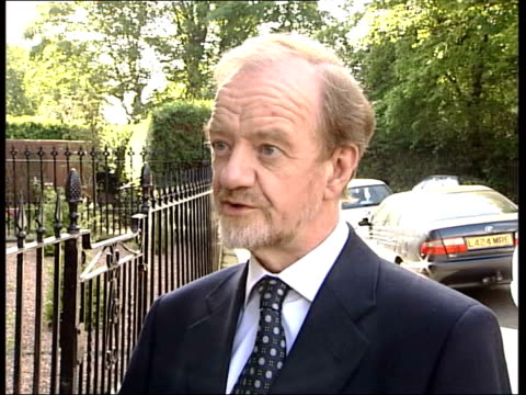 tony blair denies iraq accusations itn england london robin cook mp interviewed sot we need to find out why we went to war on a wrong premise and why... - disarmament stock videos and b-roll footage