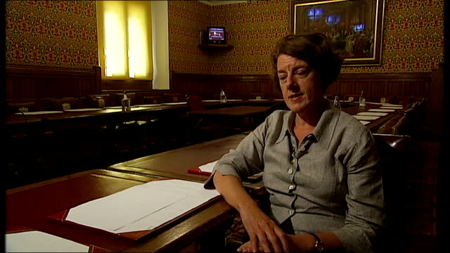 review of possible earlier departure occasions London INT Baroness Morgan interview SOT