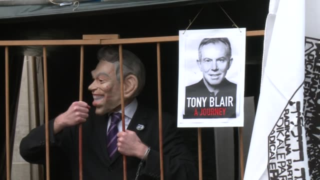 tony blair said friday he pledged to support the us-led invasion of iraq despite receiving legal advice against military action, as he returned for a... - greater london stock videos & royalty-free footage