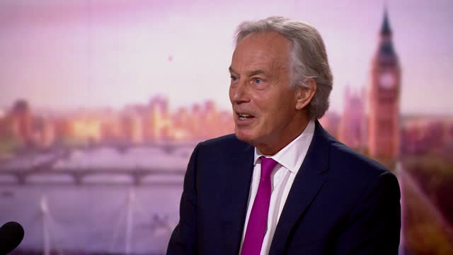 tony blair saying people will want to know if other people around them have been vaccinated against covid - alertness stock videos & royalty-free footage
