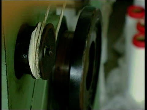 crucial agreement close tx zhejiang province woman using machine inside zip factory women working at sewing machines - zhejiang province stock videos & royalty-free footage