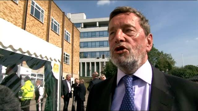 tony blair's memoirs published: reaction; london: ext david blunkett mp interview sot - david blunkett stock videos & royalty-free footage