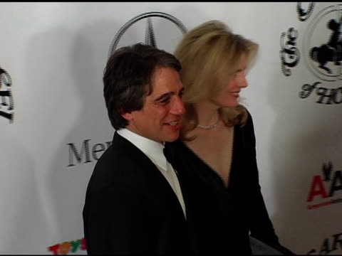 tony danza and guest at the 16th annual carousel of hope gala presented by mercedesbenz arrivals at the beverly hilton in beverly hills california on... - tony danza video stock e b–roll