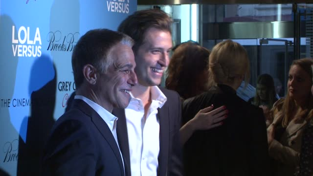tony danza and peter cincotti at lola versus new york special screening at sva theater on june 05 2012 in new york new york - tony danza stock videos and b-roll footage