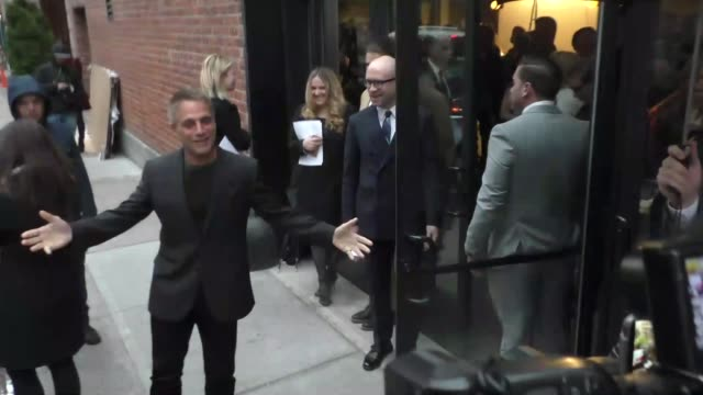 tony danza arrives to metrograph in new york in celebrity sightings in new york - tony danza video stock e b–roll