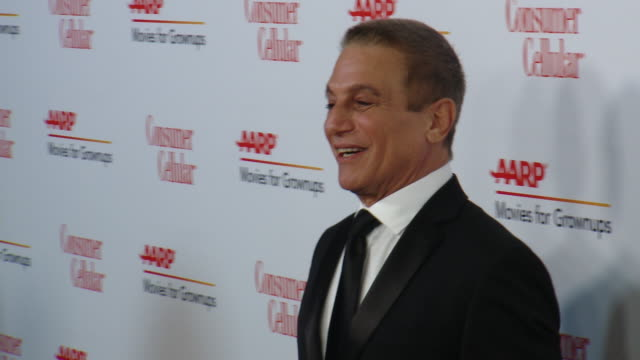 tony danza at aarp the magazine celebrates 19th annual movies for grownups awards at beverly wilshire a four seasons hotel on january 11 2020 in... - tony danza video stock e b–roll