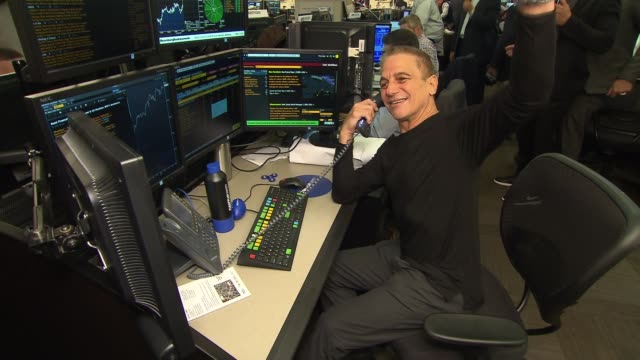 tony danza at annual charity day 2017 hosted by cantor fitzgerald bgc and gfi on september 11 2017 in new york city - tony danza stock videos and b-roll footage