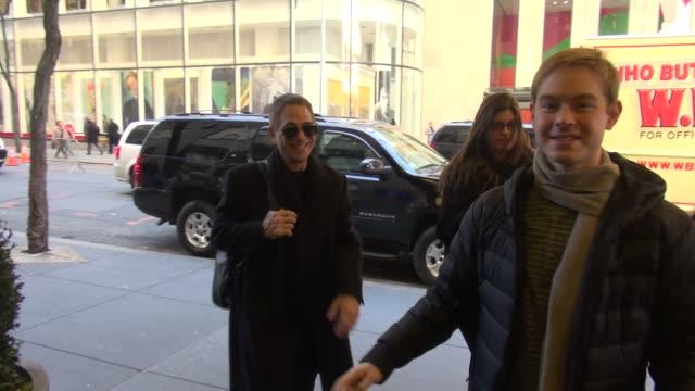 vídeos y material grabado en eventos de stock de tony danza at nbc studios at celebrity sightings in new york in new york ny on - tony danza
