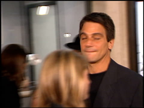 tony danza at the 'american history x' premiere at century plaza in century city california on october 26 1998 - tony danza stock videos and b-roll footage