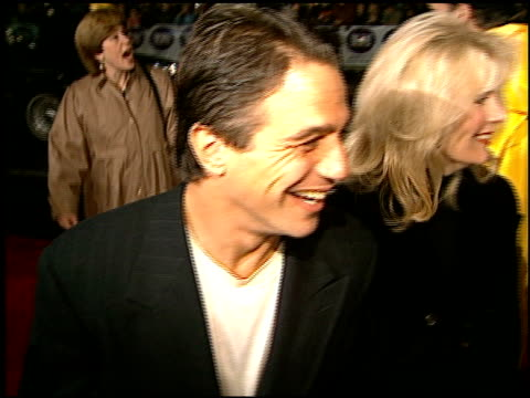 tony danza at the 'daylight' premiere at grauman's chinese theatre in hollywood california on december 5 1996 - tony danza video stock e b–roll