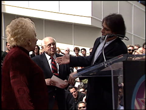 tony danza at the dediction of doris roberts's walk of fame star at the hollywood walk of fame in hollywood california on february 10 2003 - tony danza stock videos and b-roll footage