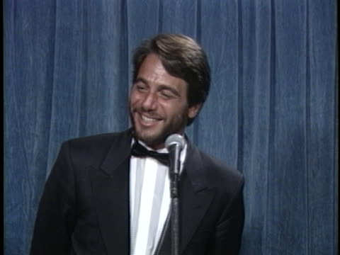 tony danza at the emmy awards at pasadena civic - tony danza video stock e b–roll
