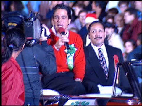 tony danza at the hollywood christmas parade on december 3 1995 - tony danza video stock e b–roll