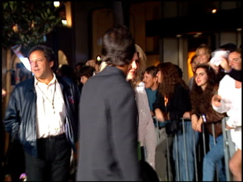 tony danza at the planet hollywood entrances on september 17 1995 - tony danza video stock e b–roll