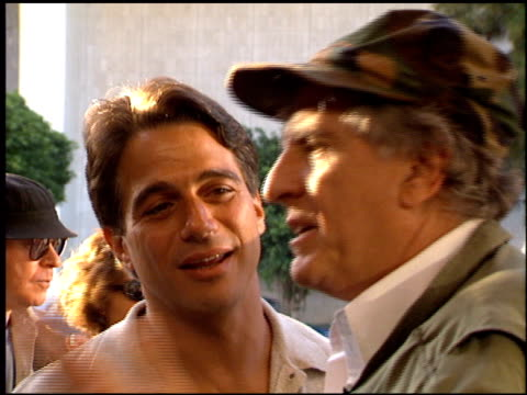 tony danza at the 'renaissance man' premiere on may 31 1994 - tony danza video stock e b–roll