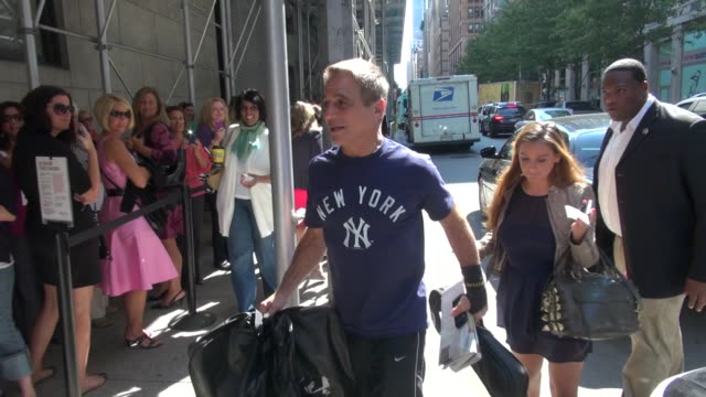tony danza at 'the wendy williams show' studio in new york ny on 09/13/12 - tony danza video stock e b–roll
