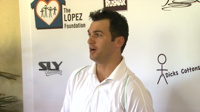 Tony Dovolani at the 4th Annual George Lopez Celebrity Golf Classic Benefitting The Lopez Foundation at Pacific Palisades CA