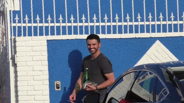Tony Dovolani at the 'Dancing with the Stars' rehearsal studio in Hollywood at Celebrity Sightings in Los Angeles on March 19 2016 in Los Angeles...