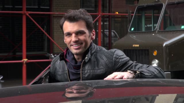 Tony Dovolani at 'The Wendy Williams Show' studio Tony Dovolani at 'The Wendy Williams Show' studio on November 29 2012 in New York New York