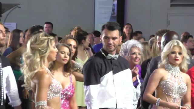 Tony Dovolani filming Dancing With The Stars flash mob on Hollywood Blvd in Hollywood Celebrity Sightings on Sept 10 2015 in Los Angeles California