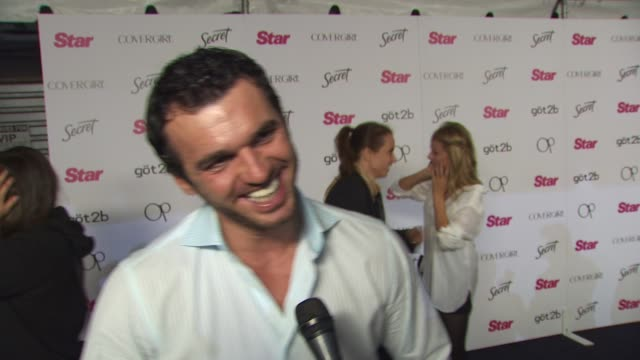 Tony Dovolani on being a fan of Star Magazine on who he thinks will win this seasons Dancing with the Stars and on Chuck Liddell being eliminated on...