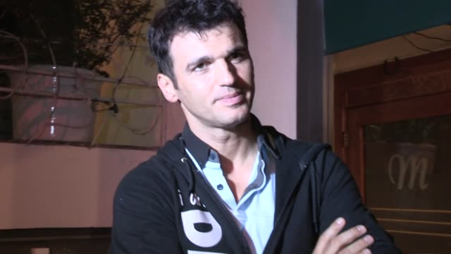 Tony Dovolani on bumper car road rage his dancing origins at Madeo in West Hollywood 11/19/12