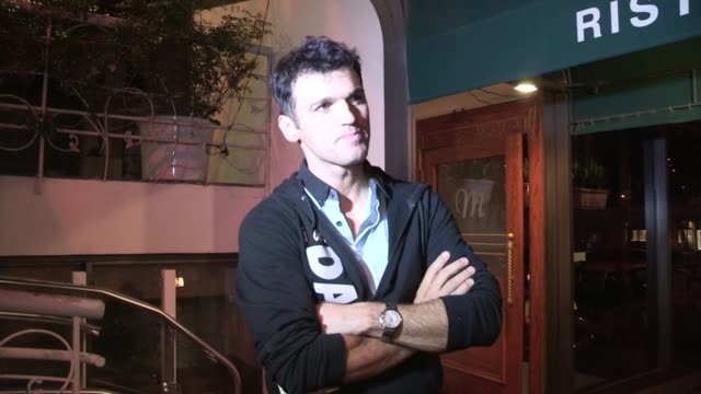 Tony Dovolani on DWTS SemiFinals International Dancing at Madeo in West Hollywood 11/19/12