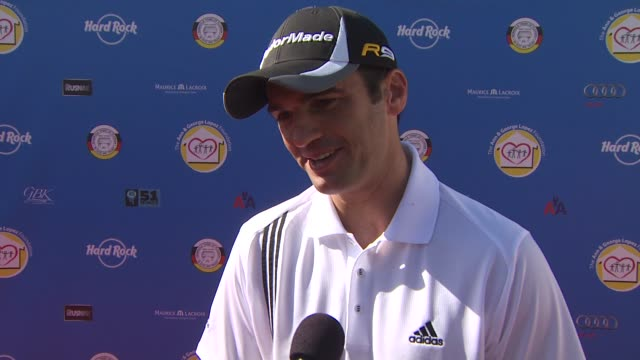 Tony Dovolani on if he's an avid golfer and the importance of giving back at the Third Annual George Lopez Celebrity Golf Classic 2010 Audi quattro...