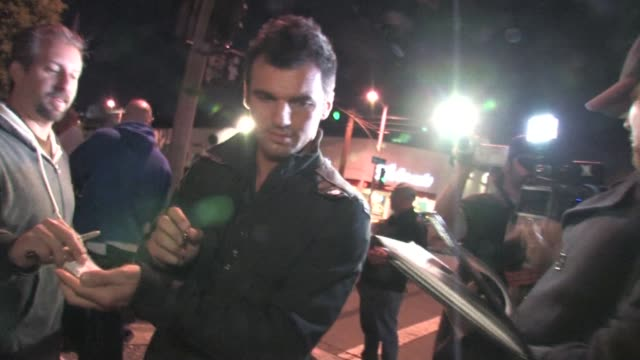 Tony Dovolani outside STK in West Hollywood at the Celebrity Sightings in Los Angeles at Los Angeles CA