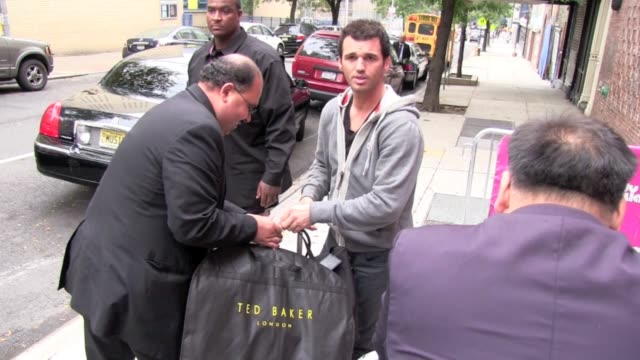 Tony Dovolani outside 'The Wendy Williams Show' in New York on