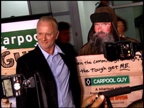 stockvideo's en b-roll-footage met tony geary at the 'carpool guy' premiere at cabana club in hollywood california on october 11 2005 - anthony geary