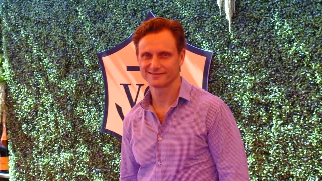 tony goldwyn at the fifth-annual veuve clicquot polo classic, los angeles at will rogers state historic park on october 11, 2014 in pacific... - palisades park stock videos & royalty-free footage