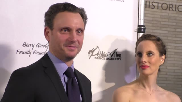 interview tony goldwyn jokes about his show scandal at the wallis annenberg center for the performing arts presents us premiere of debbie allen's... - debbie allen stock videos & royalty-free footage