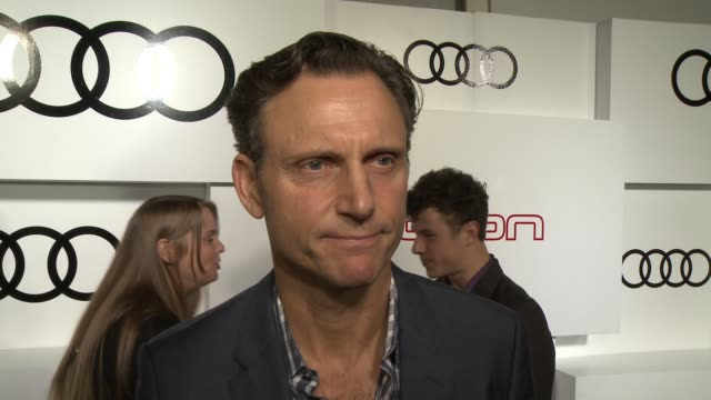 INTERVIEW Tony Goldwyn on his plans for Emmy night what shows he personally loves and who he's rooting for his thoughts on the new Audi at the Audi...