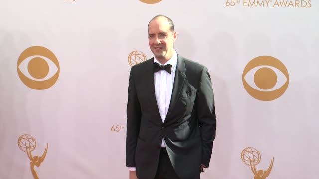 tony hale at the 65th annual primetime emmy awards arrivals in los angeles ca on 9/22/13 - annual primetime emmy awards stock-videos und b-roll-filmmaterial