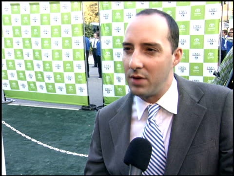 tony hale at the environmental media awards at wilshire ebell theatre in los angeles, california on october 1, 2005. - environmental media awards stock-videos und b-roll-filmmaterial