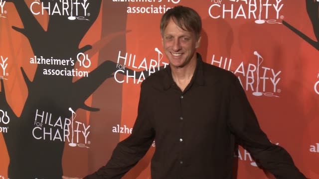 tony hawk at hilarity for charity's 5th annual los angeles variety show seth rogen's halloween at hollywood palladium on october 15 2016 in los... - seth rogen stock videos and b-roll footage