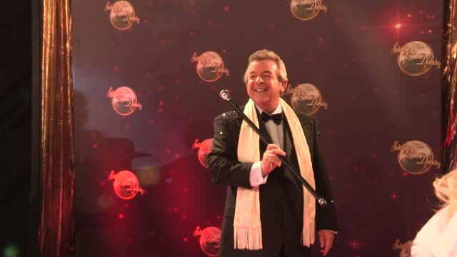 tony jacklin at strictly come dancing at elstree studios on september 03 2013 in borehamwood england - ハートフォードシャー点の映像素材/bロール
