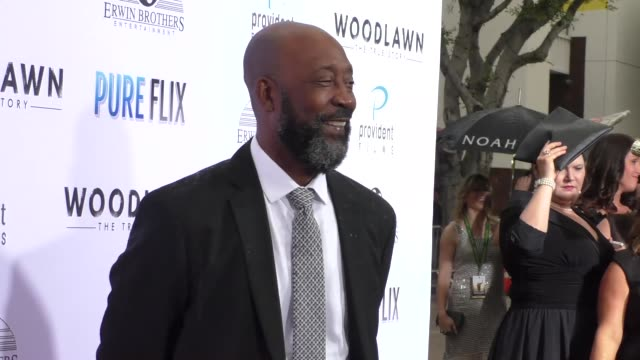 Tony Nathan at the Woodlawn Premiere at Bruin Theatre on October 05 2015 in Los Angeles California