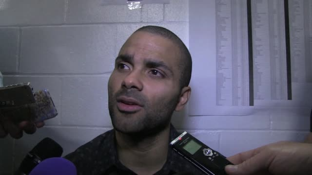 tony parker scores 10 of his 21 points in the fourth quarter as the visiting san antonio spurs rallies to beat reigning league champion miami 9288 in... - fourth quarter sport stock videos & royalty-free footage