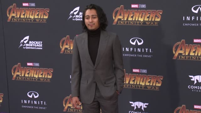 Tony Revolori at the Avengers Infinity War World Premiere on April 23 2018 in Hollywood California
