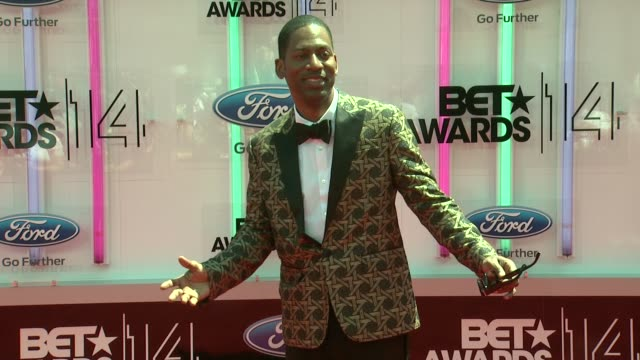 tony rock at the 2014 bet awards on june 29 2014 in los angeles california - bet awards stock videos and b-roll footage